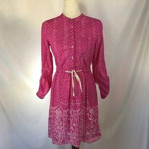 Anthropologie Meadow Rue Anila Shirt Dress